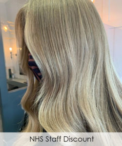 NHS Staff Discount at Louise Fudge hair salons