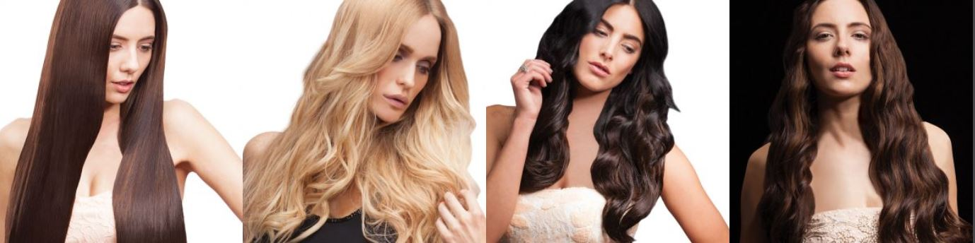 zen hair extensions at Louise Fudge Hair Salon in Little Sutton, Chester, Cheshire