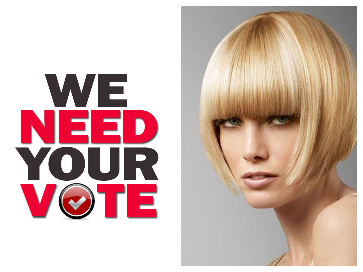 WE NEED YOUR VOTE louise fudge cheshire hair salons