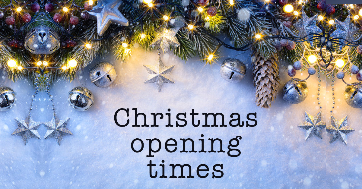 CHIRISTMAS OPENING TIMES for louise fudge hair salons in cheshire