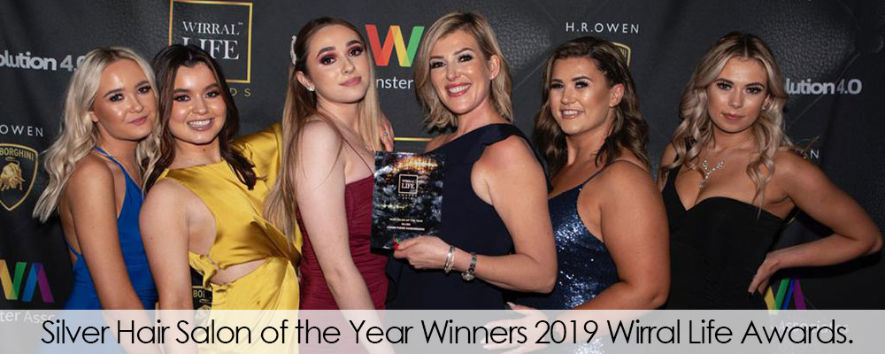 Silver Hair Salon of the Year Winners 2019 Wirral Life Awards