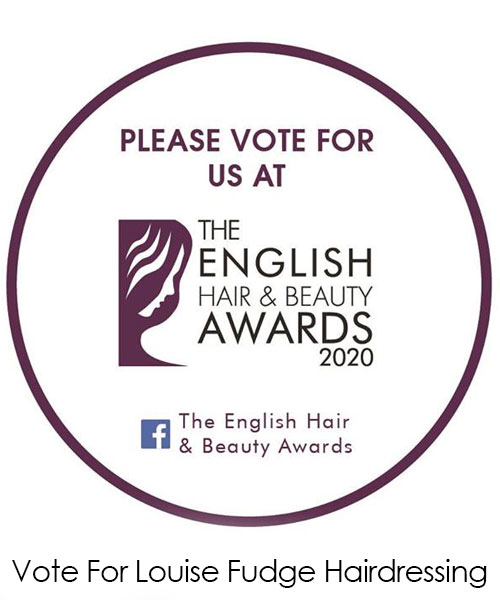 Vote for Louise Fudge As Your Favourite Cheshire Hair Salon