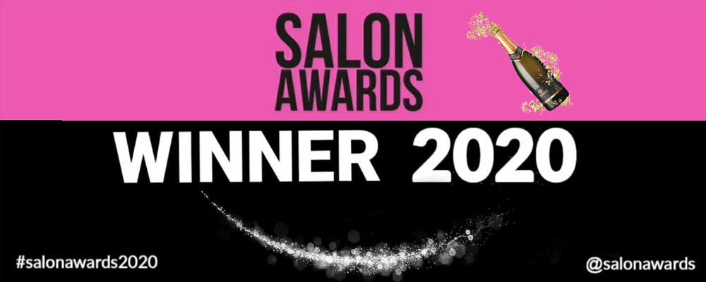 Louise Fudge hairdressing in Cheshire inner salon awards 2020