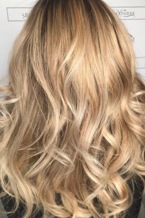 BESPOKE ROOT STRETCH & COLOUR MELT HAIR COLOUR AT LOUISE FUDGE HAIR SALON IN CHESTER