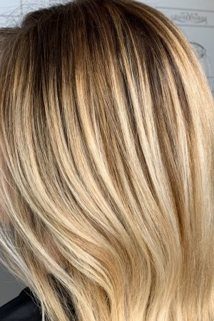 BESPOKE ROOT STRETCH & COLOUR MELT HAIR COLOUR AT LOUISE FUDGE HAIR SALON IN CHESTER